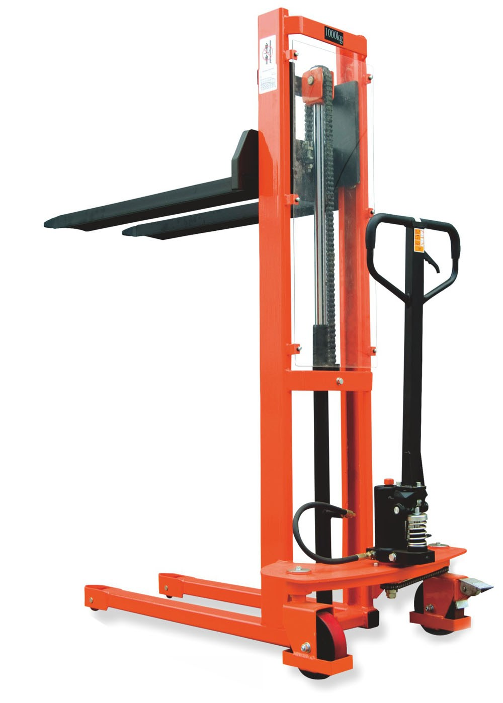 Manual Hydraulic Lift : Standard manual hydraulic stacker fc m lift kg